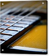 Angled Acoustic Guitar  Acrylic Print