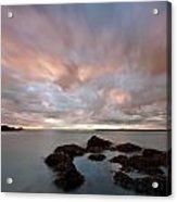 Anglesey Sunset Acrylic Print