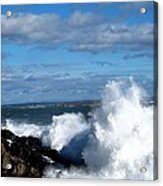 Angry Shores Acrylic Print