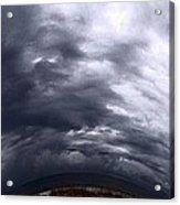 Angry Sky Acrylic Print by Garren Zanker
