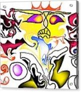 Angry Sunset Acrylic Print