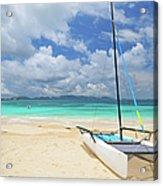 Anguilla Beach Acrylic Print
