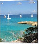 Anguilla Regatta Acrylic Print