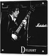 Angus Chords Delight Crowds Acrylic Print