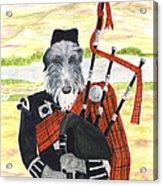 Angus The Piper Acrylic Print