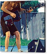 Angus Young Of A C D C At Day On The Green Monsters Of Rock Acrylic Print