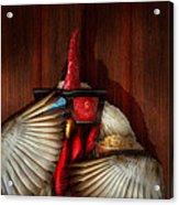 Animal - Chicken - Movie Night  Acrylic Print