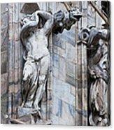 Animal Gargoyles Duomo Di Milano Italia Acrylic Print