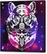 Animal Head Print For Adult Anti Stress Acrylic Print