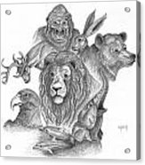Animal Kingdom Acrylic Print