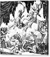 Animal Magnetism, 1784-5 Acrylic Print