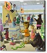 Animal Supermarket Acrylic Print
