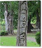 Animal Tree Totem Acrylic Print