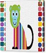 Animals Whimsical 6 Acrylic Print