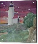 Anisquam Lighthouse Acrylic Print