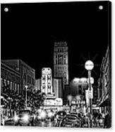Ann Arbor Nights Acrylic Print