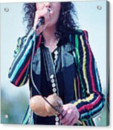 Ann Wilson Of Heart At 1981 Day On The Green In Oakland Ca Acrylic Print