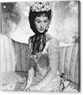 Anna Karenina, Vivien Leigh, 1948, Tm & Acrylic Print