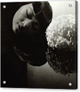 Anna May Wong Resting Her Head Acrylic Print