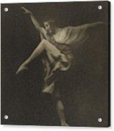 Anna Pavlowa Arnold Genthe, American Acrylic Print