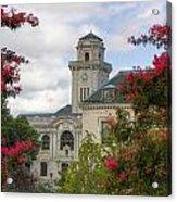Annapolis Academy Clock Tower Acrylic Print
