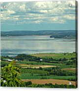 Annapolis Valley No.1 Acrylic Print by George Cousins