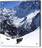 Annapurna Sanctuary Trail Acrylic Print