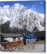 Annapurna Mountain View, Nepal Acrylic Print