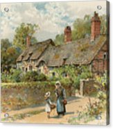 Anne Hathaway's Cottage At Shottery Acrylic Print