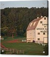 Anne Of Green Gables Museam Acrylic Print