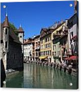 Annecy And Le Thiou Acrylic Print