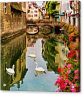 Annecy Acrylic Print