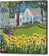 Annie's Summer Cottage Acrylic Print