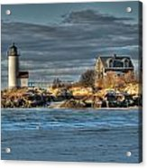Annisquam Lighthouse From The Beach Acrylic Print