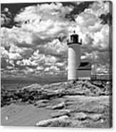 Annisquam Lighthouse Infrared Acrylic Print