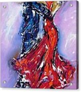 Anniversary Dance Painting  Acrylic Print
