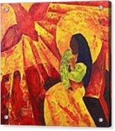 Annunciation Acrylic Print