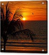 Another Beautiful Sunset Acrylic Print