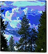 Another Fine Day On Planet Earth Acrylic Print