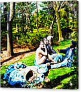 Another Luncheon On The Grass Acrylic Print