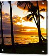 Another Maui Sunset Acrylic Print