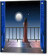 Another Night Alone Acrylic Print