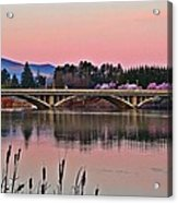 Another Pink Morning 2 Acrylic Print