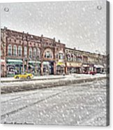 Another Snowy Day Acrylic Print