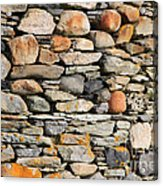 Another Stone In The Wall Acrylic Print