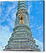 Another Stupa At Grand Palace Of Thailand In Bangkok Acrylic Print
