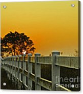 Another Tequila Sunrise Acrylic Print