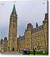 Another View Of Parliament Building In Ottawa-on Acrylic Print