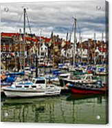 Anstruther Harbour Acrylic Print