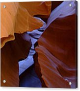 Antelope Canyon 40 Acrylic Print